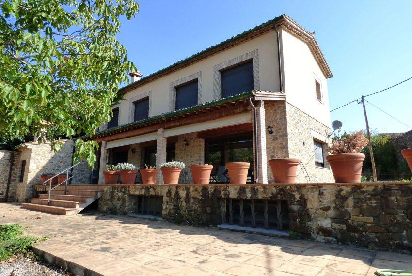 Casa con Piscina en el Emporda Fachada