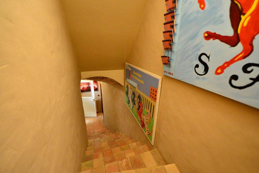 Hotel Venta Emporda Escaleras interiores