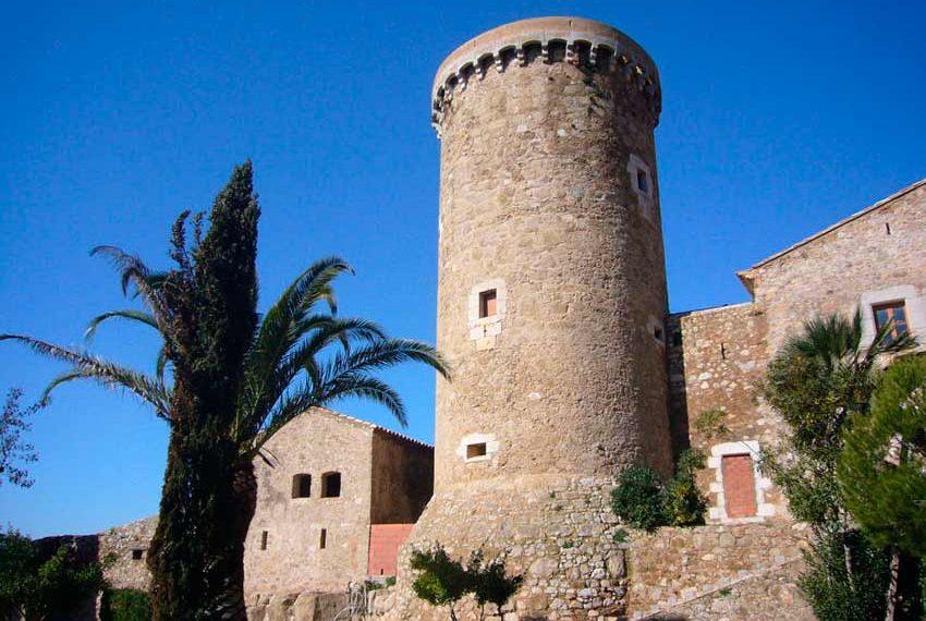 Torre Medieval Baix Emporda Palmera