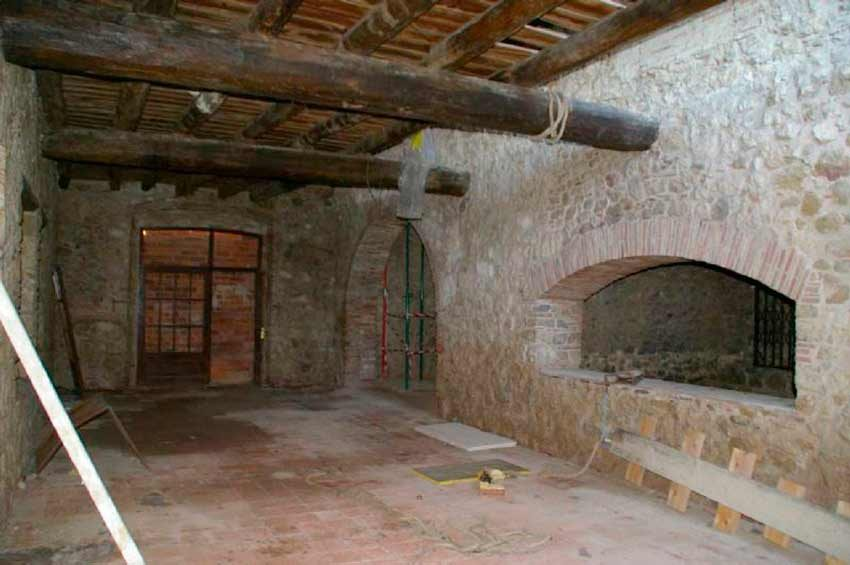 Torre Medieval Baix Emporda Salon
