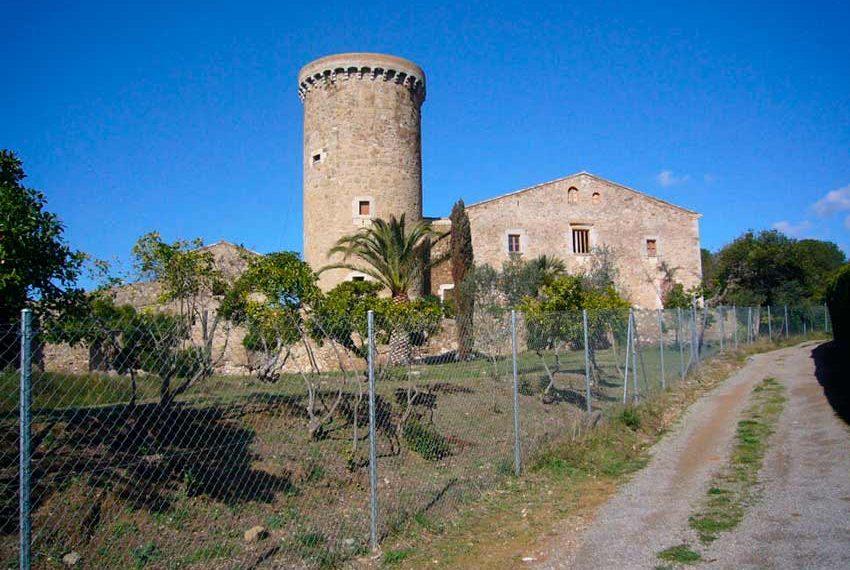 Torre Medieval Baix Emporda Terreno